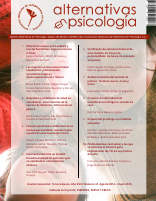 Revista Alternativas en Psicologia